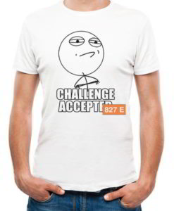 chalange accepted