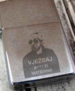 srebrni upaljač