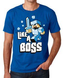 Like a boss plava